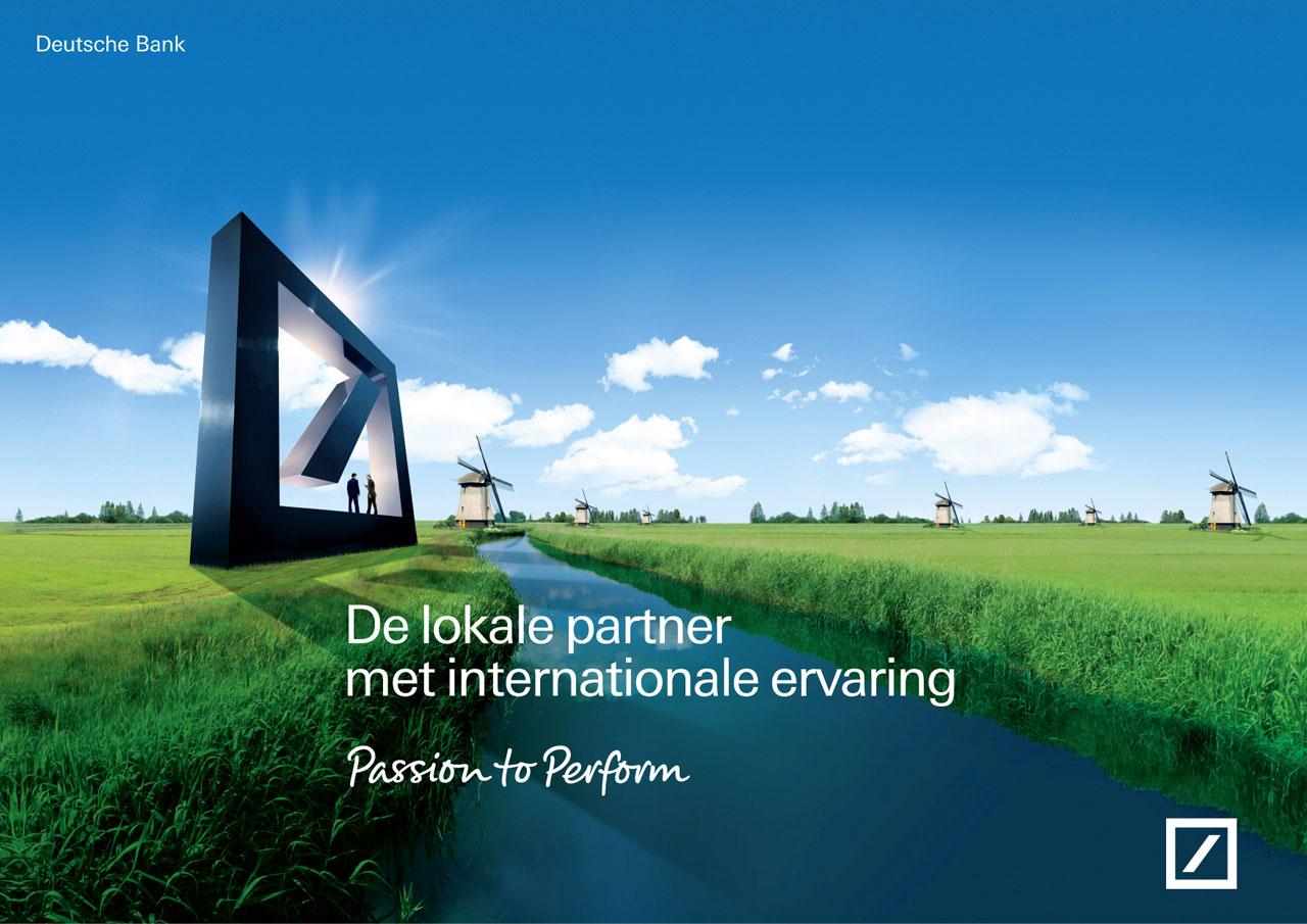 Deutsche Bank Nederland advertentie