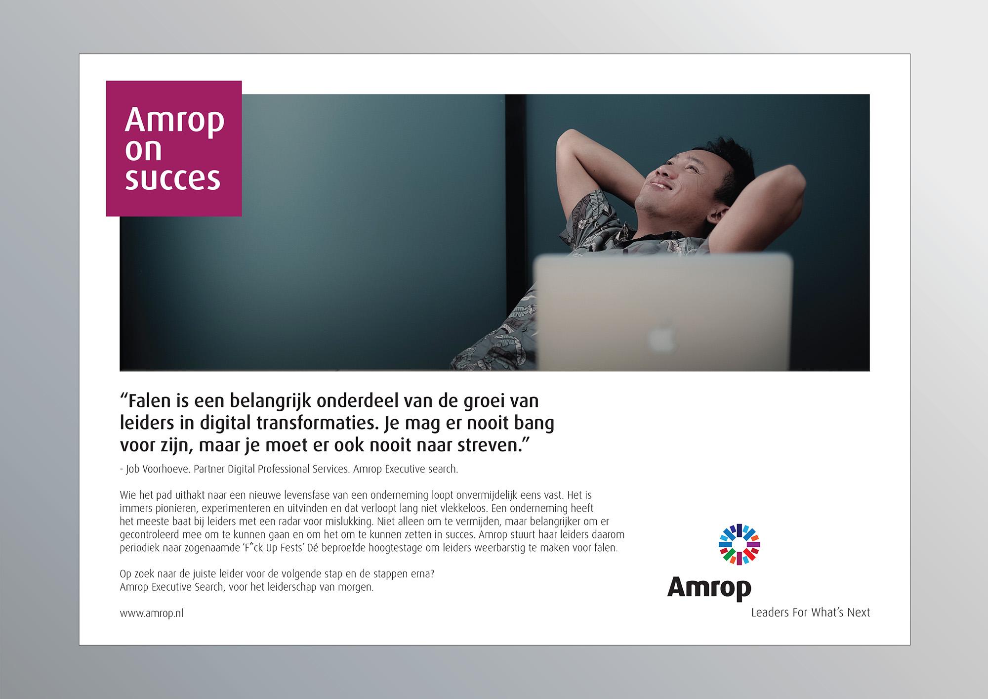 Opmaak advertenties Amrop groot.indd